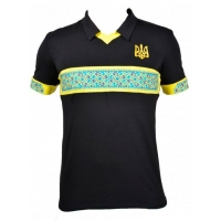 Поло-вишиванка чорна, Україна понад усе