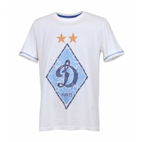 Футболка «Динамо Київ» чоловіча  молочна