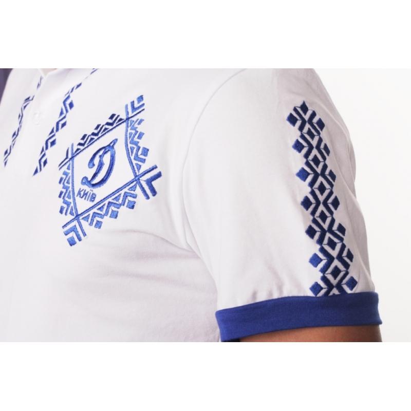 Біла вишиванка чоловіча «Динамо Київ» 0d6ecd8723b47