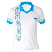 Поло вышиванка «С Украиной в сердце» мужская