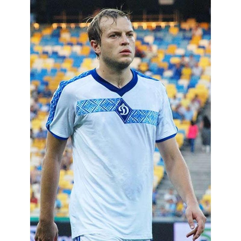 Вишиванка біла чоловіча «Динамо Київ» 7b61261b8e21c