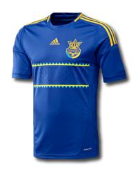 Футболка adidas сборной Украины, мужская, синяя